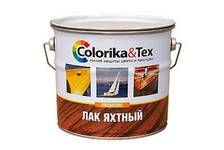 Лак яхтный Colorika&Tex полуматовый 2,7 кг