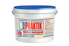 Краска фасадная BERGAUF Praktik, 7 кг
