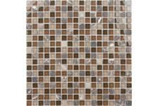 Мозаика Caramelle Mosaic Naturelle Andorra 305х305х4 мм, чип 15*15 мм