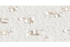 Панель ПВХ 955х480мм Плитка Белая ракушка