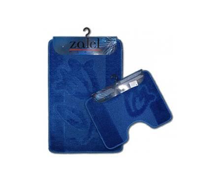 Набор ковриков для ванной Zalel 2 предмета 55х85 (синий)