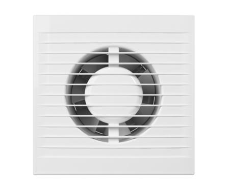 Вентилятор D125 осевой с антимоскитной сеткой и тяговым выключателем Фотография_0