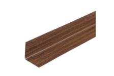 Угол ПВХ 20x20 мм, орех (2,7 м)