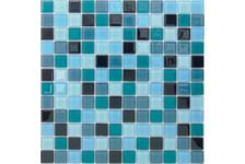 Мозаика Caramelle Mosaic Acquarelle Delphinium 298х298х4 мм, чип 23х23 мм