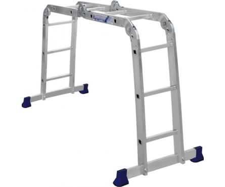 Лестница-трансформер алюминиевая, 2*2+2*3 ступ. TL 4023 Фотография_0
