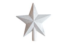 Наконечник Зимнее волшебство Звезда млечный путь 18х19 см, белый
