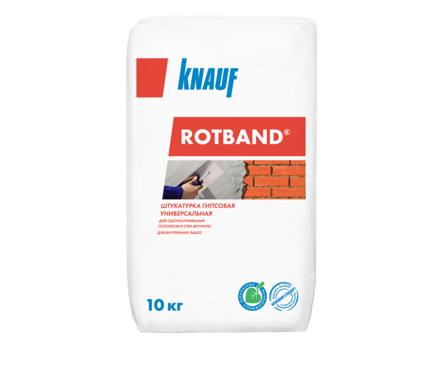 Штукатурка гипсовая KNAUF Ротбанд универсальная, серая (10 кг) Фотография_0