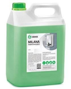 Жидкое крем-мыло Milana 5л (алоэ вера) GRASS
