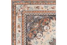 Керамогранит Kerama Marazzi Мраморный Дворец ковёр угол лаппатированный, 402х402 мм, бежевый декор