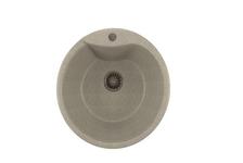 Мойка Mixline GM12 круглая, серая, 485 мм