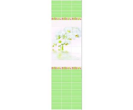 ПВХ Панель NOVITA 3D 2700*250*9мм Орхидея ДЕКОР из 3 шт. (0,675 кв. м, в уп. 12 шт.)