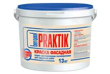 Краска фасадная BERGAUF Praktik, 13 кг