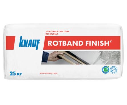 Шпаклевка гипсовая KNAUF Ротбанд Финиш финишная, 25 кг Фотография_0