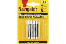 Элемент питания Navigator алкалиновая R06 АА (1 уп./2шт)