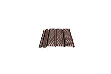 Софит ДЁКЕ STANDARD с центральной перфорацией (Шоколад)  3,050 м*0,305 м
