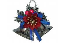 Новогоднее украшение Колокольчики Е50699, длина 4,5 см