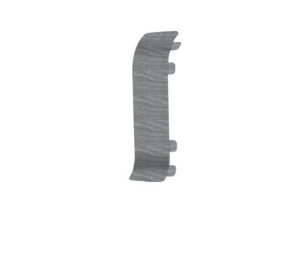 Угол для плинтуса К55 Идеал Комфорт Палисандр серый / 282 соединительный