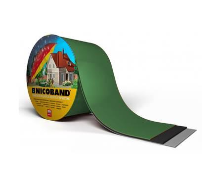 Самоклеящаяся герметизирующая лента NICOBAND зеленая 3000х50