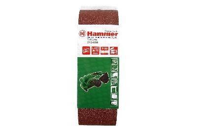 Лента шлифовальная Hammer Flex 212-009 75 Х 533 Р 80 3 шт