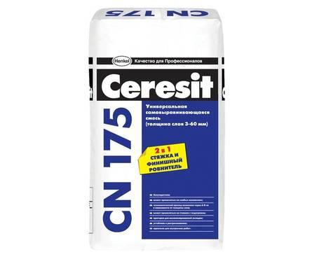 Пол CERESIT CN175 самовыравнивающийся 25 кг Фотография_0