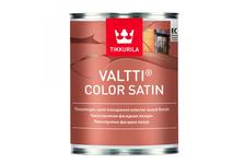 Лазурь фасадная Tikkurila Valtti Color Satin для дерева, бесцветная (0.9 л)