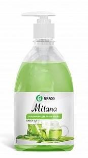 Жидкое крем-мыло с дозатором Milana 0,5л (зеленый чай) GRASS
