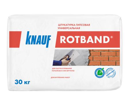Штукатурка гипсовая KNAUF Ротбанд универсальная, серая (30 кг) Фотография_0