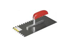 Гладилка STAYER MASTER 130*280 мм (зуб 8х8 мм) стальная, деревянная ручка