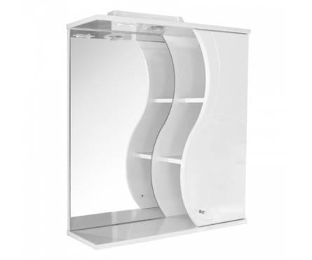 Шкаф навесной  Катрин-75 белый (ПВХ)