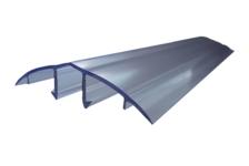 Профиль соединительный крышка HCP-U 6-10 мм, прозрачный 6 м БСТ