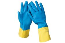 Перчатки латексные STAYER MASTER с неопреновым покрытием, экстрастойкие, размер XL