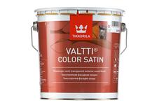 Лазурь фасадная Tikkurila Valtti Color Satin для дерева, бесцветная (2.7 л)