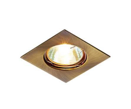 Светильник точечный Ambrella 866A SB бронза MR16 Фотография_0