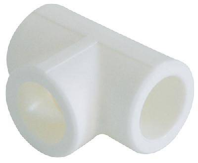 Тройник PPR 40 белый Фотография_0