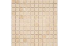 Мозаика Caramelle Mosaic Pietrine Crema Marfil матовая, 298х298х4 мм, чип 23х23 мм