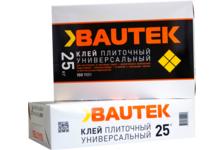 Клей для плитки BAUTEK Универсальный 25 кг