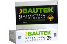 Штукатурка BAUTEK Цементная 25 кг