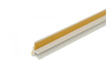 Профиль оконный примыкающий без сетки, самоклеящийся, 6 мм/2,4 м