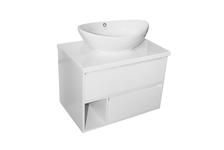 Тумба для ванной Mixline Аврора-70 подвесная, белая (без умывальника)