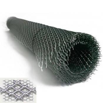 Сетка ЦПВС оцинк. №60*4,0 (0,6 мм) (1,25x1,92 м; яч. 50*20 мм)