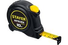 Рулетка 10х25мм STAYER AutoLock
