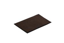 Коврик VORTEX/10, влаговпитывающий, ребристый 40х60 см, коричневый