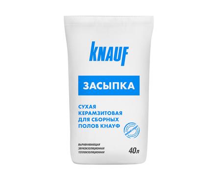 Сухая керамзитовая засыпка KNAUF для сборных полов (40 л/22.5 кг) Фотография_0