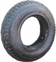 Покрышка для колеса от тачки строительной, 4,00-8 Фотография_0
