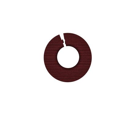 Обвод для труб 1/2 дюйма Махагон
