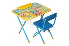 Мебель детская Фиксики (стол+стул мягкий+пенал ) Азбука Ф1А Ники