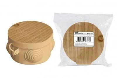 Коробка распределительная 85х40мм сосна, IP54 TDM Фотография_0