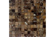 Мозаика Caramelle Mosaic Pietrine Emperador Dark полированная, 298х298х4 мм, чип 23х23 мм