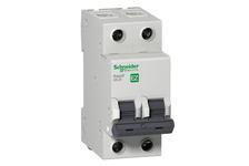 Выключатель автоматический SE Easy9 двухполюсный С, 10 А, 4.5 кА, 230 В