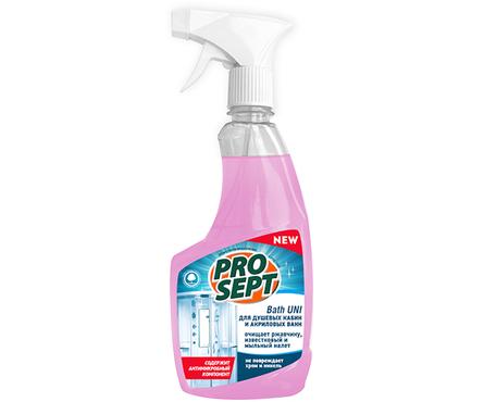 Универсальный спрей для чистки сантехники PROSEPT Bath UNI  0,5 л Фотография_0